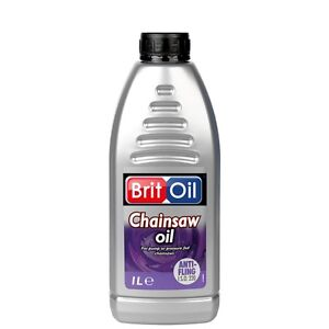 CHAINSAW OIL 1 LITRE BOTTLE FOR PUMP OR PRESSURE FED CHAIN SAWS