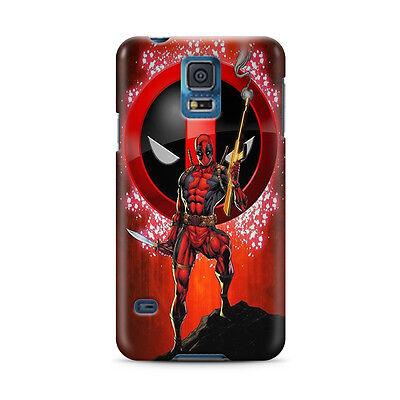 Deadpool Hero Samsung Galaxy S4 5 6 7 8 9 10 E Edge Note 3 - 10 Plus Case 9