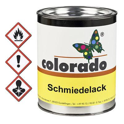 colorado Kunstschmiedelack Eisenglimmer - 1 Liter (Kunst Eisen)