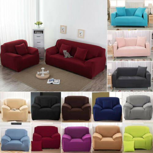 Stretch Fit Sofa Cover Lounge Couch Removable Slipcover Prot