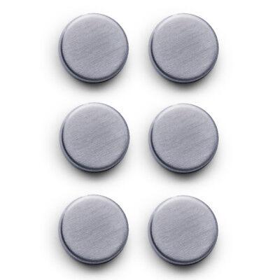 6-tlg. Set Magnete EXTRA STARK für Glas-Magnettafel Glasmagnet Memoboard
