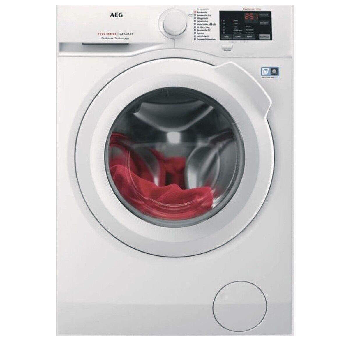 AEG L6FB548G Waschmaschine 8KG EEK: A+++ 1400 UpM Display weiß