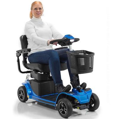 2019 Pride REVO 2.0 4-Wheel Electric Mobility Scooter U1 Batteries with CTS S67