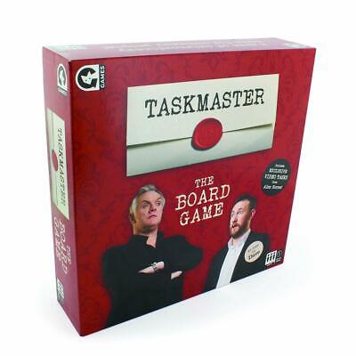 Ginger Fox Taskmaster Edition Family Fun Children Board Game For Ages 8 And Up