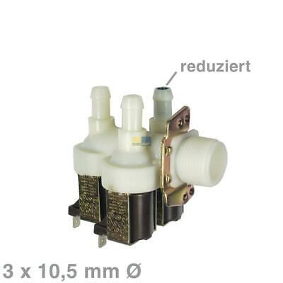 Magnetventil Ersatz (Magnetventil 3-fach Ø 10,5mm Ventil Ersatz Miele 1678013 2902362 Waschmaschine)