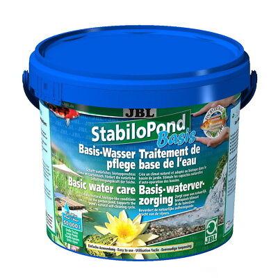 JBL StabiloPond Basis 2,5 kg Stabilo Pond Grundpflegemittel für 25.000 Liter