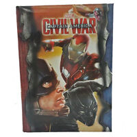 Diario Scuola Capitan America Civil War Iron Man 20,5x15 Cm Seven 2017 -  - ebay.it