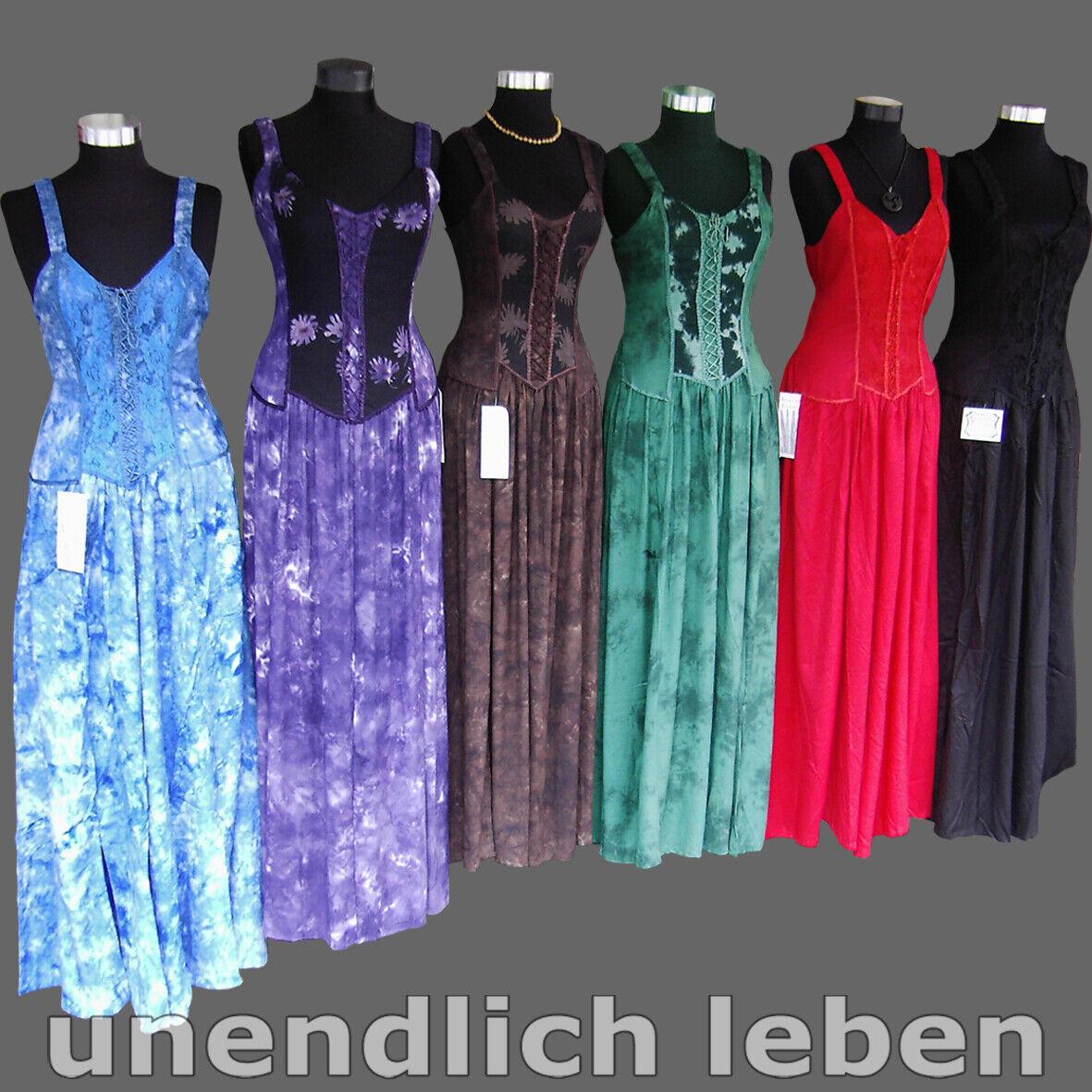 Miederkleid Mittelalterkleid Sommer Mieder Mittelalter Kleid Damen Gewand S-XXXL