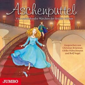 Aschenputtel: Vier zauberhafte Märchen der Brüder Grimm Audio-CD