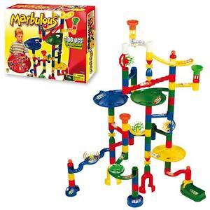 Marbulous Childrens/Kids Marble Drop Race Run 100pce Construction Track Toy Set