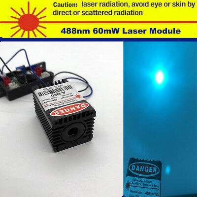 Sharp 488nm 60mw Mint-blue Laser Modulebuilt By 488nm Laser Diodettl