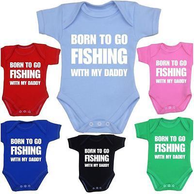 babyprem vêtements de bébé humour pêche Combinaison une seule pièce Gilet douche