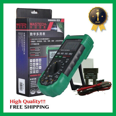Digital Multi-meter Auto Range Full Protection Acdc Voltmeter Electrical Tester