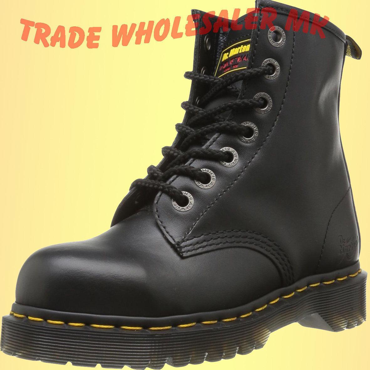 a461f7fc45c Details about DM Docs Dr Martens Icon 7 Eyelet Steel ToeCap Safety Boots UK  3-13 Work Uniform