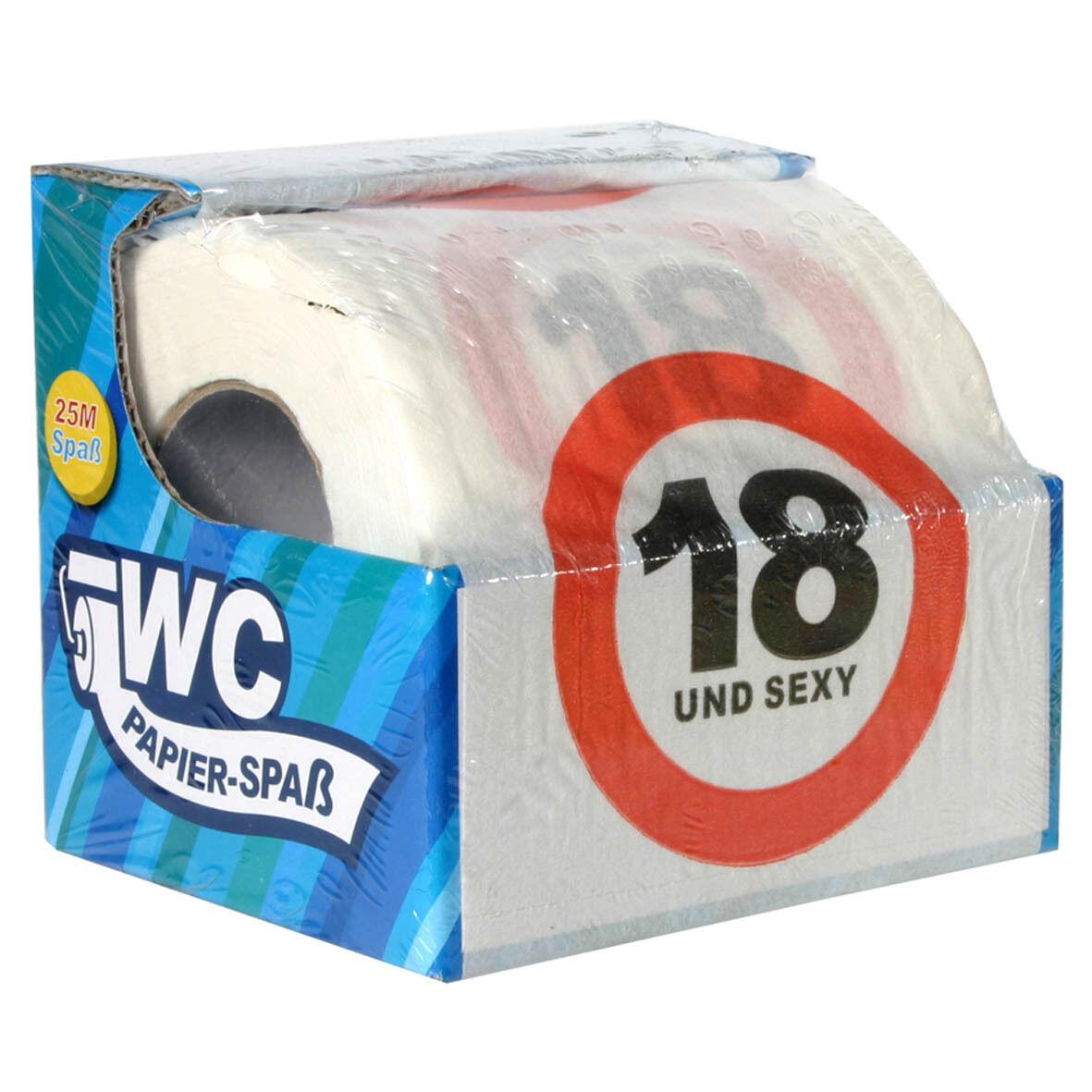 Toilettenpapier 18 20 sexy Geburtstag Klopapier 126708313 126709313 126709113