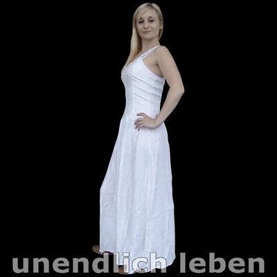 Freizeit-Kleid weiß Mittelalter Sommer Kleid Mieder Mittelalterkleid S-XXL - Mittelalter Kleid Weiss
