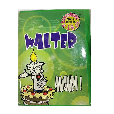 Geburtstag Singt (Geburtstag Karte Musical singt Nome Walter und viele Grüße für Sie)