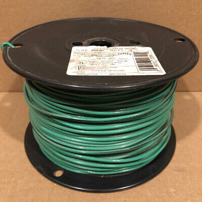 ENCORE WIRE 10 AWG MACHINE TOOL WIRE MTW//AWM//TEW RED  500 FOOT ROLL