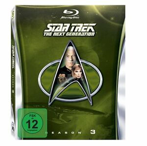 STAR TREK: The Next Generation - Season 3 (6 Blu-Ray Disc´s) NEU & OVP