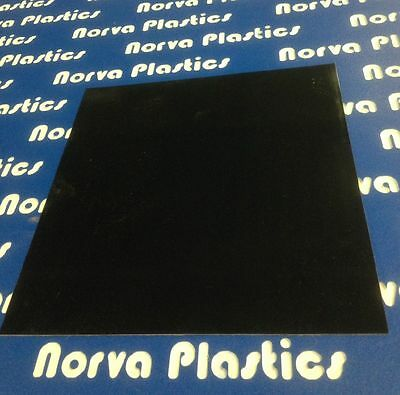 G10 Black Phenolic Sheet - 1 X 6 X 12
