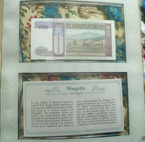 *Most Treasured Banknotes Mongolia 1993 10 Tugrik  P53  UNC Low radar 18381