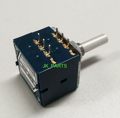 Original Brand New Alps Rk27 Type Dual 100k 100ka X 2 Potentiometer Us Seller
