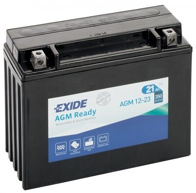 EXIDE AGM 12 23 Y50 N18L A2 FULLY SEALED VRLA BATTERY <em>YAMAHA</em> XV 1100 V