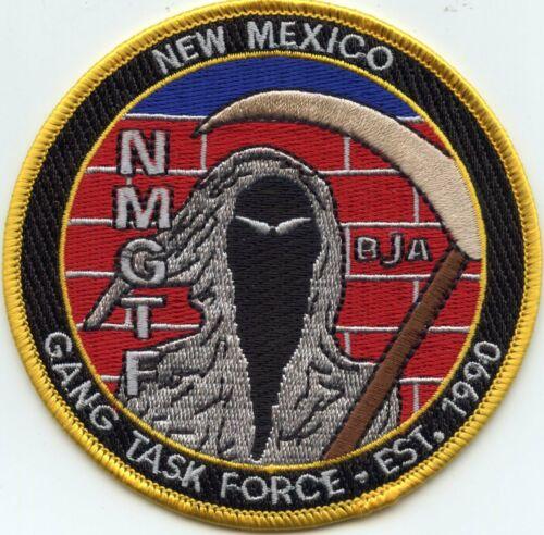 NEW MEXICO NM STATE GANG TASK FORCE sheriff police PATCH