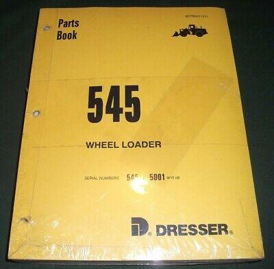 Komatsu Dresser 545 Wheel Loader Parts Manual Book Catalog Sn 5001-up