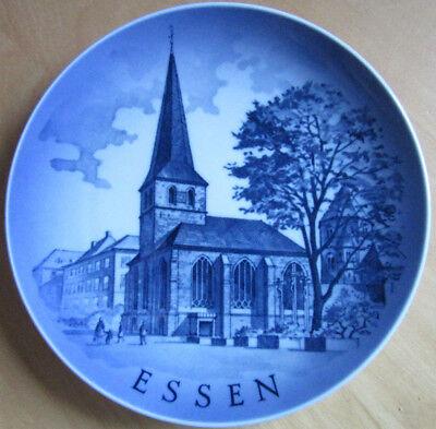 Royal Copenhagen Wandteller Essen Motiv I - 1975 Am Essener Münster