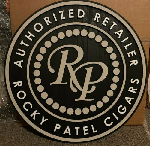 Rocky Patel Cigars Wooden Sign