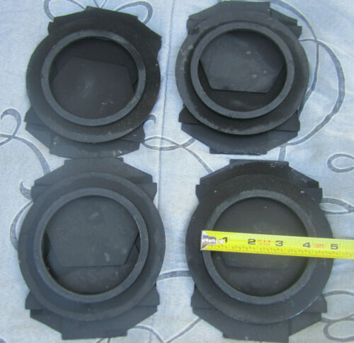 Lot of 4 Barndoors for stage light #1