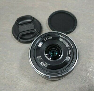 Sony SEL 16F28 16mm F2.8 Lens for Sony E-mount SEL16F28