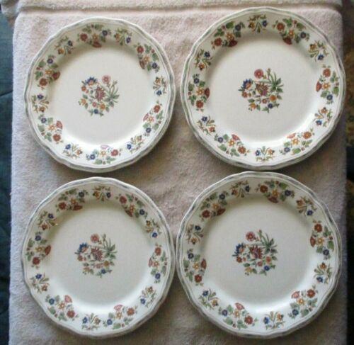 GIEN OLERYS-Lot Of Eight Dinner Plates-Fine French Dinnerware