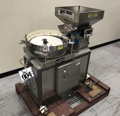 Kal-tech D1177 Vibratory Bowl Feeder 18dia With 17 X 17 X 11deep Feed Hopper