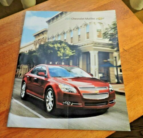 2011 Chevrolet Malibu 28 Page Advertising Booklet from Dealership