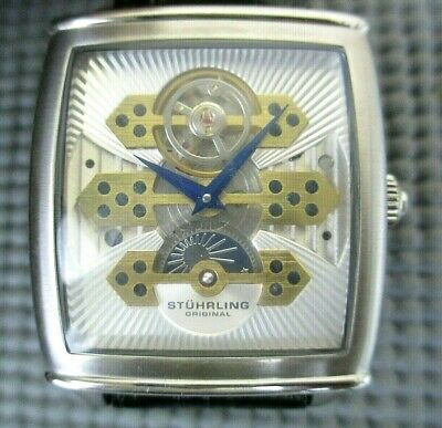 Mens Stuhrling Automatic #90319 Exposition Universelle 20-Jewel Watch