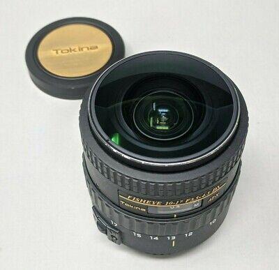 Tokina AT-X 10-17mm f/3.5-4.5 DX AF Lens For Canon - Excellent!