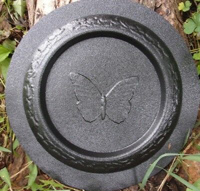 Butterfly birdbath mold concrete bird feeder mould 9