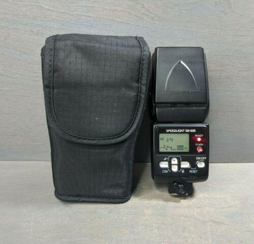 Nikon SB-600 SB 600 Speedlight Shoe Mount Flash