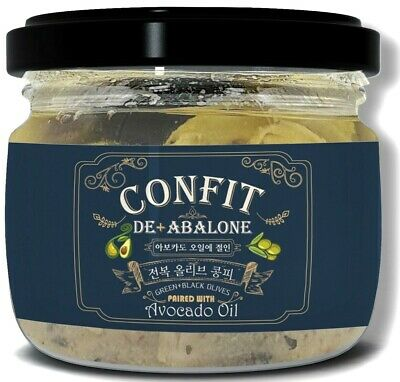 Korean Abalone Olive Confit Paired with Avocado Oil 4.2 Oz (120g) × 24 Jars