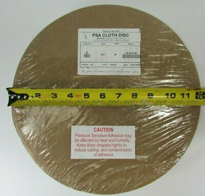 25 Pcs Psa Cloth Sanding Disc Sc Material 12 X 1 Grit 50 86-0079-00 1900675 Usa