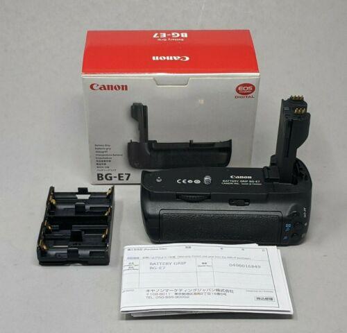 Genuine Canon BG-E7 Battery Grip for 7D