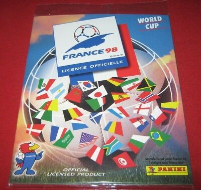 OFFICIAL LICENSED PANINI Album Reprint World Cup France 98 Complete No Stickers