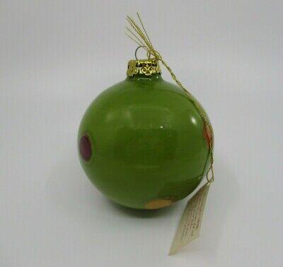 VIETRI PALLINI HOLIDAY ORNAMENT - GREEN 22B ()