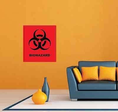 Biohazard Band Punk Rock Metal Music Room Wall Decor Sticker Decal 22