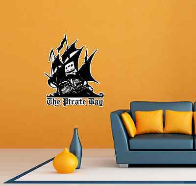 The Pirate Bay Room Wall Garage Decor Sticker Decal 20