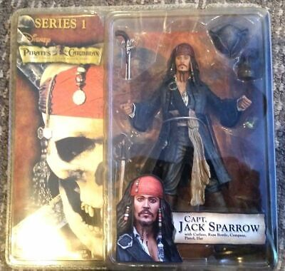 PIRATES OF THE CARIBBEAN CURSE OF THE BLACK PEARL CAPT JACK SPARROW SERIES 1 - Pirates Of The Caribbean Jack Sparrow
