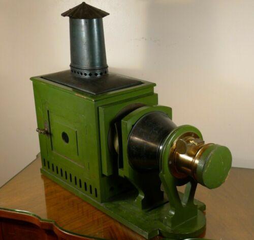 James W. Queen & Co. Magic Lantern w/Carbon Arc Lamp. C.1860