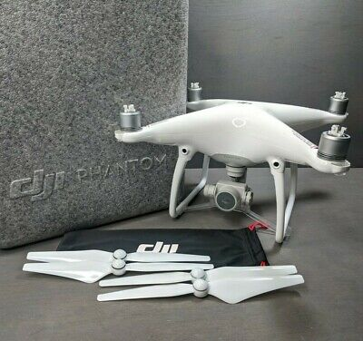 DJI Delusion 4 Quadcopter Drone 4k Camera - Flies Great - no controller or batter